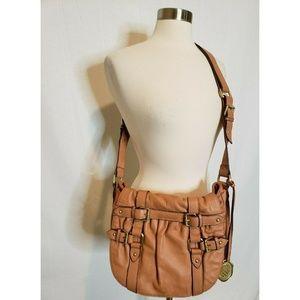 Vince Camuto Leather Purse Shoulder Bag Fold over